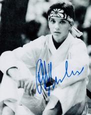 Ralph Macchio Signed - Autographed THE KARATE KID 8x10 Photo