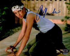 Ralph Macchio Autographed The Karate Kid (Wax On Wax Off) 8x10 Photo