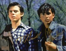Ralph Macchio & C. Thomas Howell Signed The Outsiders 8x10 Photo
