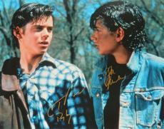Ralph Macchio & C. Thomas Howell Dual Signed The Outsiders 16x20 Photo w/Ponyboy
