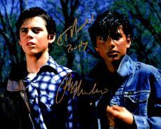 Ralph Macchio & C. Thomas Howell Dual Signed The Outsiders 8x10 Photo w/Ponyboy