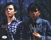 Ralph Macchio & C. Thomas Howell Signed 'the Outsiders' 8x10 Photo Jsa Coa
