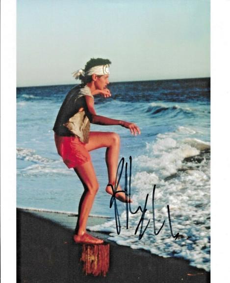 Ralph Macchio Daniel Son The Karate Kid Cobra Kai Signed 8x10 Photo W/ DG COA