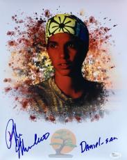 Ralph Macchio Karate Kid (Daniel-San) Signed 11x14 Photo JSA