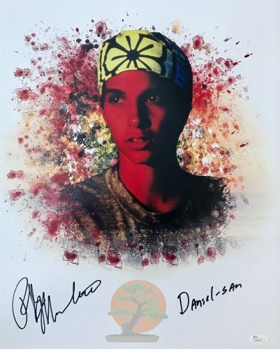 Ralph Macchio Karate Kid (Daniel-San) Signed 16x20 Photo JSA