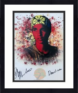 Ralph Macchio Karate Kid (Daniel-San) Signed 16x20 Photo JSA
