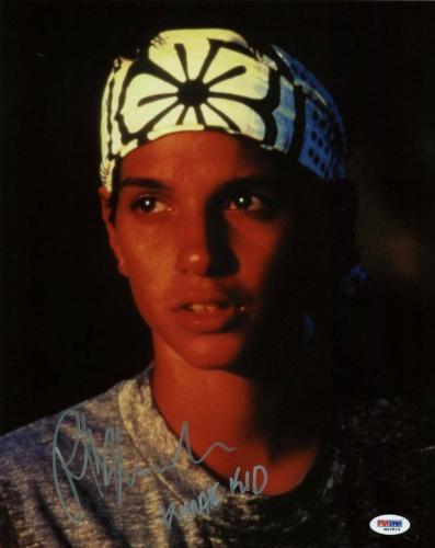 "Ralph Macchio ""Karate Kid"" Signed 11X14 Photo PSA/DNA #M42819"