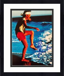 Ralph Macchio Karate Kid Signed Autographed Photo 11x14 JSA Authenticated 1