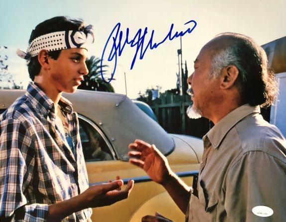 Ralph Macchio Karate Kid Signed Autographed Photo 11x14 JSA Authenticated 4