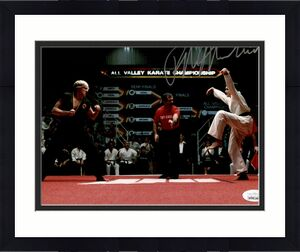 Ralph Macchio Karate Kid Signed Autographed Photo 8x10 JSA Authenticated 2