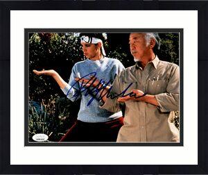 Ralph Macchio Karate Kid Signed Autographed Photo 8x10 JSA Authenticated 6