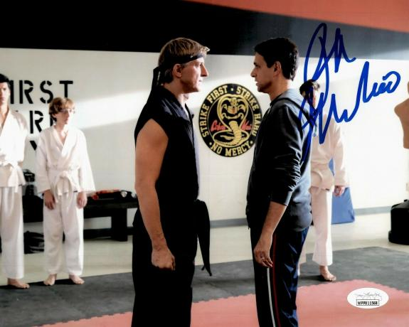 Ralph Macchio Karate Kid Signed Autographed Photo 8x10 JSA Authenticated 7