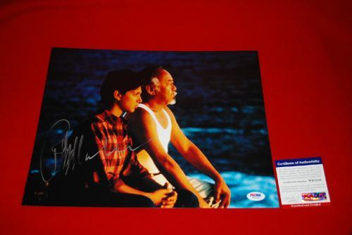 RALPH MACCHIO karate kid  signed PSA/DNA 11x14