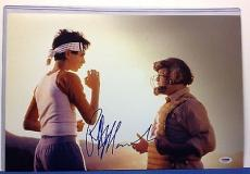 Ralph Macchio Signed 12x18 Karate Kid  Photo - PSA/DNA # AA28357