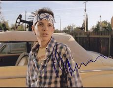 Ralph Macchio Signed 8x10 Photo w/coa Karate Kid C