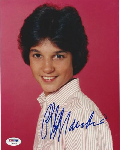 Ralph Macchio signed 8X10 PSA/DNA # Y98660