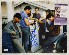 RALPH MACCHIO Signed Autograph THE OUTSIDERS 11x14 Photo. JSA