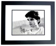 Ralph Macchio Signed - Autographed THE KARATE KID 11x14 Photo BLACK CUSTOM FRAME