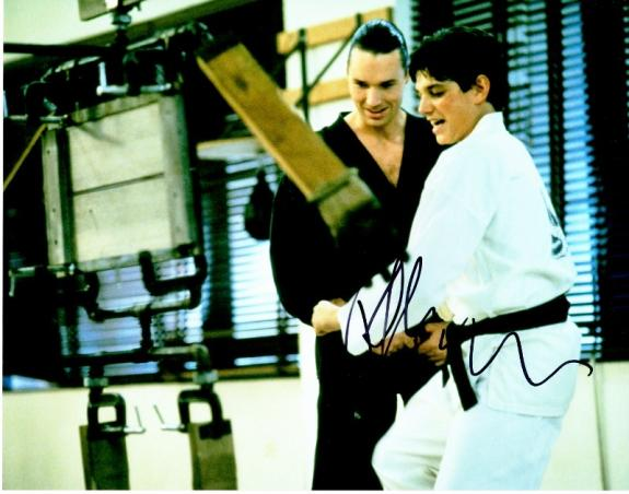 Ralph Macchio Signed - Autographed THE KARATE KID 11x14 inch Photo - Guaranteed to pass BAS