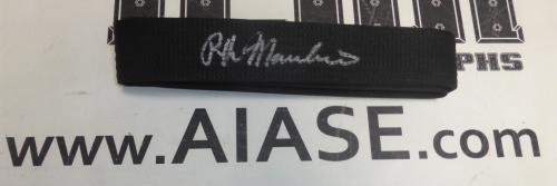 Ralph Macchio Signed Black Belt PSA/DNA COA The Karate Kid Autograph Daniel Son