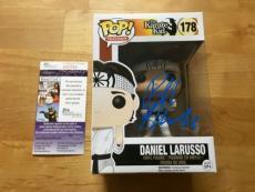 Ralph Macchio Signed Daniel Larusso Pop Funko JSA Coa The Karate Kid