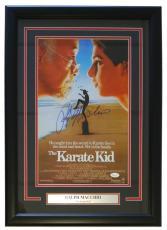Ralph Macchio Signed Framed Karate Kid 11x17 Movie Poster JSA