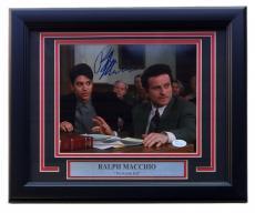 Ralph Macchio Signed Framed My Cousin Vinny 8x10 Photograph with Joe Pesci JSA