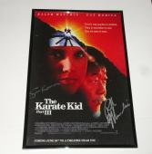 Ralph Macchio Signed Framed The Karate Kid Part Iii 11x17 Movie Poster Proof