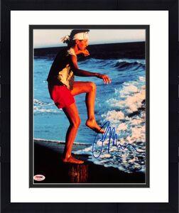 Ralph Macchio Signed Karate Kid 11x14 Photo PSA AB92823