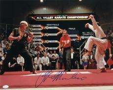 Ralph Macchio Signed Karate Kid 16x20 Photograph vs Johnny Lawrence JSA
