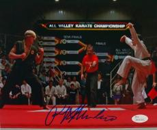 Ralph Macchio Signed Karate Kid 8x10 Photograph vs Johnny Lawrence JSA