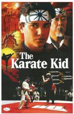 Ralph Macchio Signed Karate Kid Authentic Autographed 11x17 Photo JSA #T82030