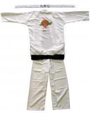Ralph Macchio Signed Karate Kid Gi Uniform Inscribed The Karate Kid JSA