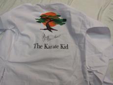 Ralph Macchio Signed Miyagi Do Custom Gi/uniform -the Karate Kid- Jsa Coa