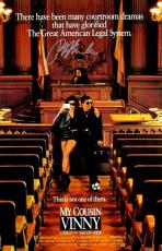 Ralph Macchio Signed My Cousin Vinny 11x17 Movie Poster