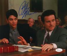 Ralph Macchio Signed My Cousin Vinny 8x10 Photograph with Joe Pesci JSA