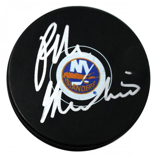 Ralph Macchio Signed New York Islanders Puck