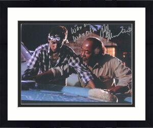 Ralph Macchio Signed The Karate Kid 11x14 Wax On Wax Off Scene Inscription Proof