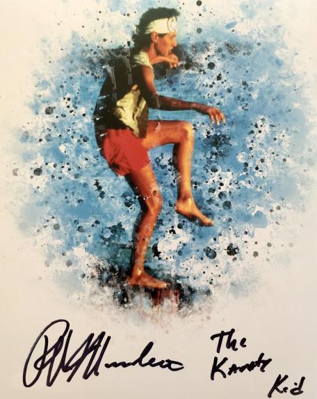 Ralph Macchio Signed (The Karate Kid) 8x10 Photo JSA Q06587