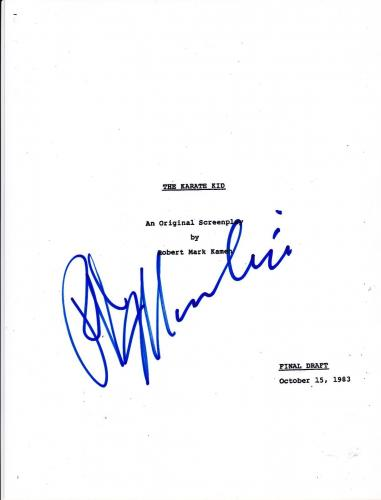 Ralph Macchio Signed The Karate Kid Full 133 Page Script Authentic Autograph Coa