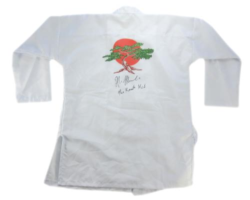 "Ralph Macchio Signed The Karate Kid Iconic Marital Arts Gi with ""The Karate Kid"" Inscription"
