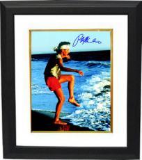 Ralph Macchio signed The Karate Kid Training on the Beach 11X14 Photo Custom Framed (Daniel LaRusso)