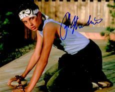Ralph Macchio Signed The Karate Kid Waxing Floor 8x10 Photo