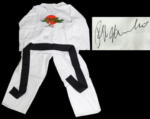 Ralph Macchio Signed The Karate Kid White Karate Uniform Gi