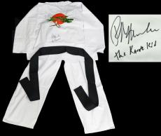 Ralph Macchio Signed The Karate Kid White Karate Uniform Gi w/The Karate Kid