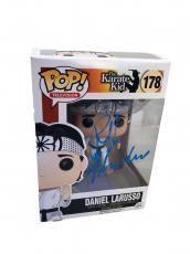 Ralph Macchio The Karate Kid (Daniel Larusso) Signed Funko Pop JSA