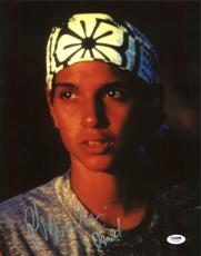 "Ralph Macchio The Karate Kid ""Daniel"" Signed 11X14 Photo PSA #U23784"