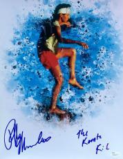 Ralph Macchio The Karate Kid Signed 11x14 Photo JSA