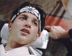 Ralph Macchio The Karate Kid Signed 11X14 Photo PSA/DNA #P72381