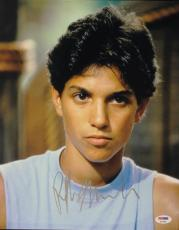 Ralph Macchio The Karate Kid Signed 11X14 Photo PSA/DNA #P72382